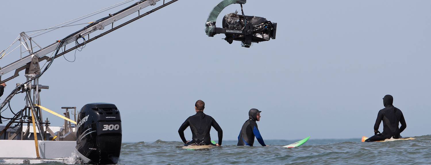 feature film production chasing mavericks